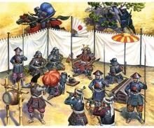 1:72 Samurai Army Headquar.16th–17th cty
