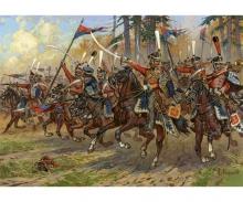 1:72 Russ.Hussars Napoleon.Wars 1812-14