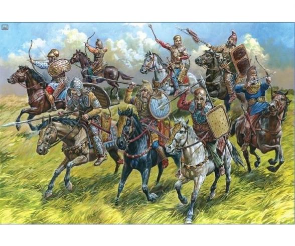 1:72 Scythian cavalry V - III B.C.