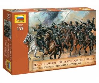 1:72 Figure-Set Blk.Hussars
