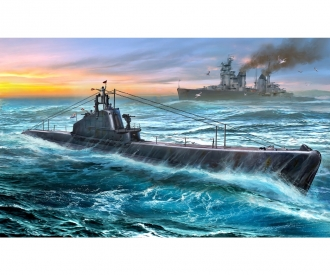 "1:144 Soviet WWII ""Shchuka"" class submar"