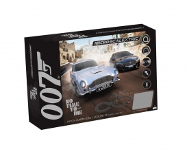 1:64 Micro James Bond Race Set Battery