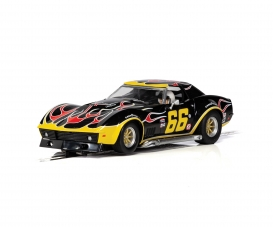 1:32 Chevrolet Corvette #66 Flames HD