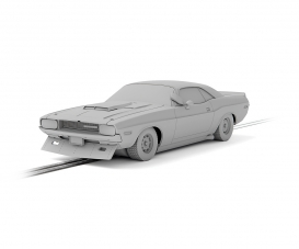 1:32 Dodge Challenger Posey No.76 HD
