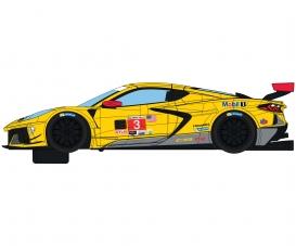 1:32 Corvette C8R Daytona '20 Gelb #3 HD