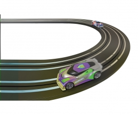 1:64 Micro Track Extension Set Straight/Curve