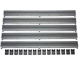 SPORTCrash barrier with clips (5)