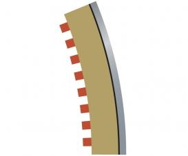 SPORT Randstreifen Kurve R3 aus. 22,5(4)