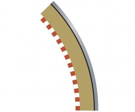 SPORT Randstreifen Kurve R2 aus. 45(4)