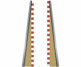 SPORT Lead in/Out Border Straight (2+2)