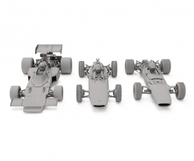 1:32 Lotus F1 Triple Pack HD