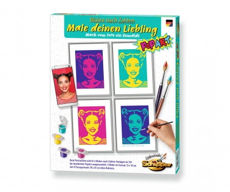Paint your Darling PopArt