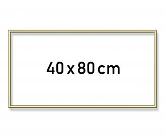 Cadre en aluminium 40 x 80 cm
