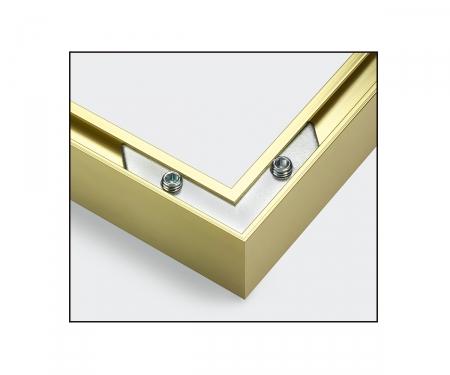 Aluminium frame diptych 50 x 80 cm