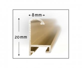 Alurahmen Quattro 18 x 24 cm