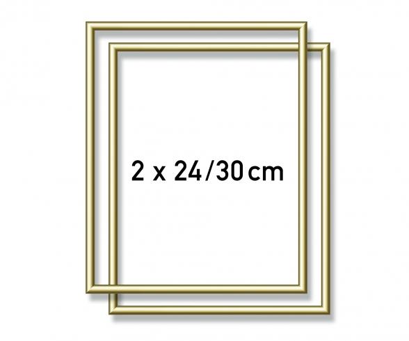 2 Alurahmen 24 x 30 cm