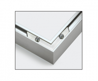 Alurahmen Quattro 18 x 24 cm – Silber matt