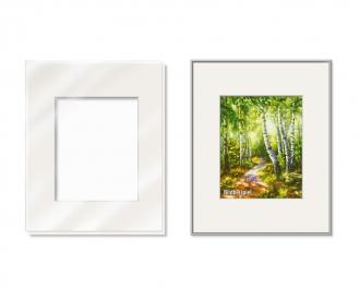 Passepartout für das Bildformat 24 x 30 cm