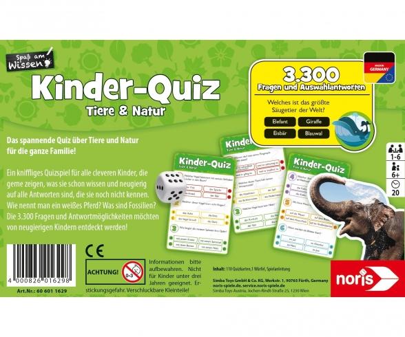 Kids quiz animals & nature