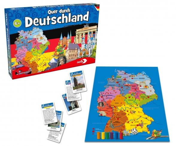 Quer durch Deutschland