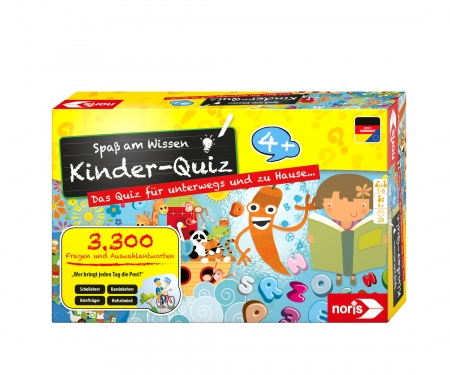 Children's quiz for clever kids