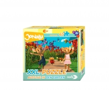 big-sized jigsaw-Excursion in the garden