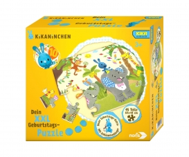 Big-sized jigsaw puzzle Kikaninchen