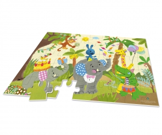 KIKANINCHEN XXL Puzzle - Happy Birthday