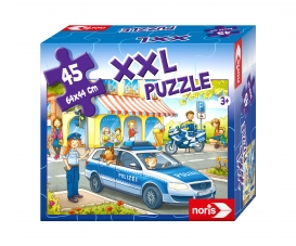 Big-Sized Jigsaw Puzzle Police