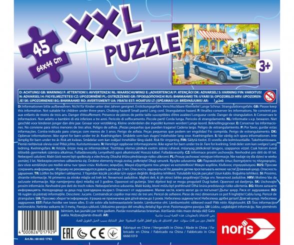 big-sized jigsaw puzzle police patrol