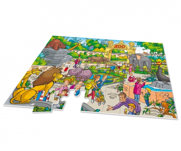 XXL Puzzle Zoo 2 in 1 incl. Game