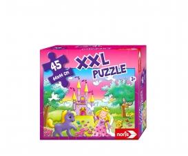 XXL Puzzle Prinzessin im Zauberwald