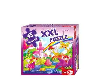 big-sized jigsaw puzzle fairy land 45 p.