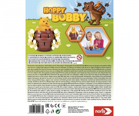Hoppy-Bobby Actionspiel