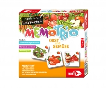 Memo Trio fruit and vegetables
