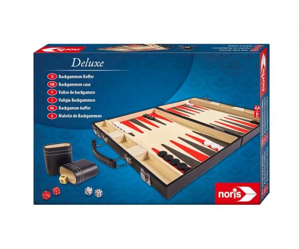 "Caisse de Backgammon Deluxe 15 """
