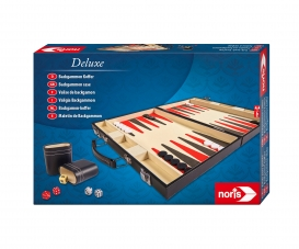 Deluxe Backgammon Koffer - 15""