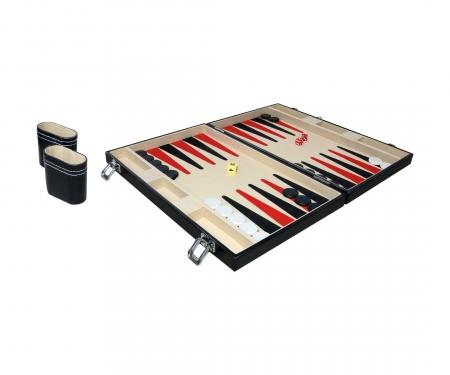 "Deluxe Backgammon Koffer - 15"""