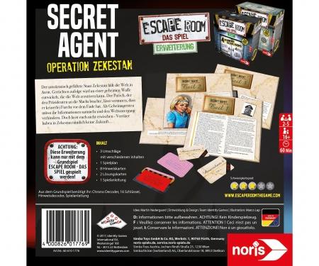 Escape Room Secret Agent