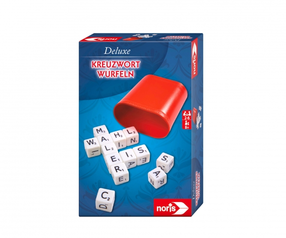 Deluxe crossword dice