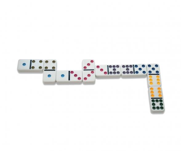 Deluxe Double 9 Domino