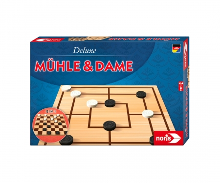 Deluxe - Mühle & Dame