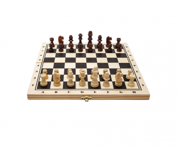 Deluxe Chess in wooden box
