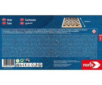 Deluxe Holz - Schach