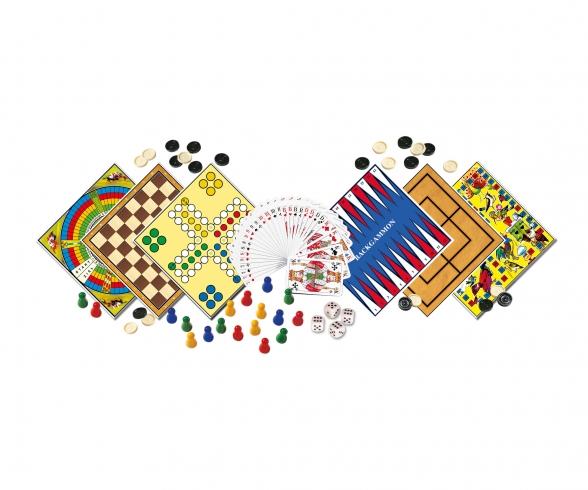 Spieleklassiker - 200 Spielmöglichkeiten