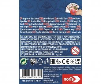 Spielkartenhalter aus Kunststoff