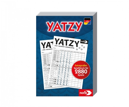 Knubbel / Yatzy Maxi Playbook