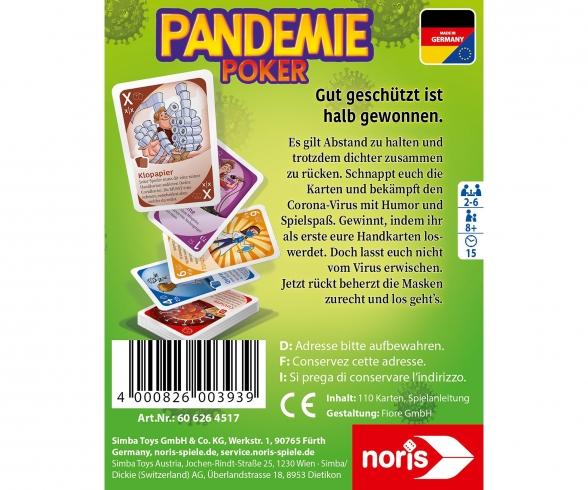 Pandemie Poker