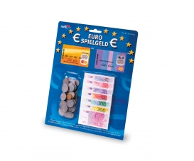 Euro Playmoney: Banknotes+ Coins