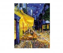 La Terrasse de café le soir